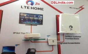 Reliance Jio Home LTE